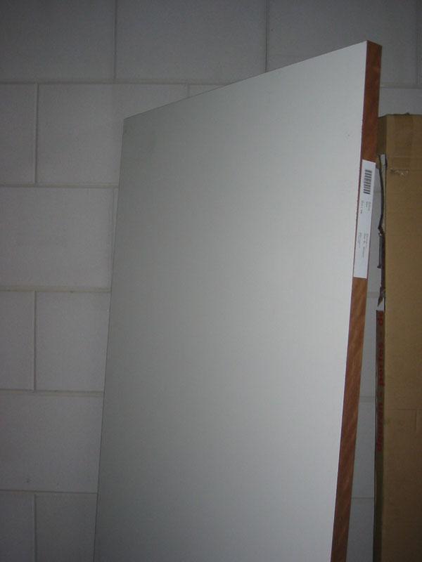Binnendeuren hpl deur wit 83x231 5 stomp 60 min brandwerend for Norhtgo deuren