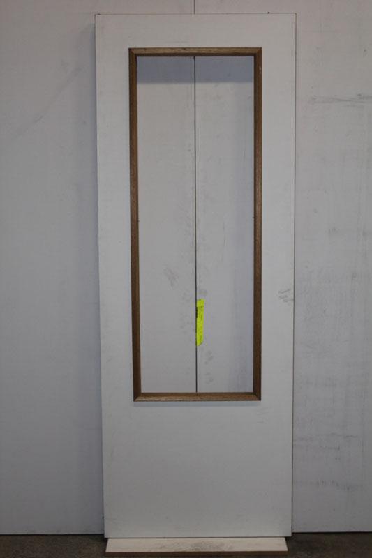 Boarddeuren boarddeur 78x211 5 stomp met groot glasopening for Norhtgo deuren