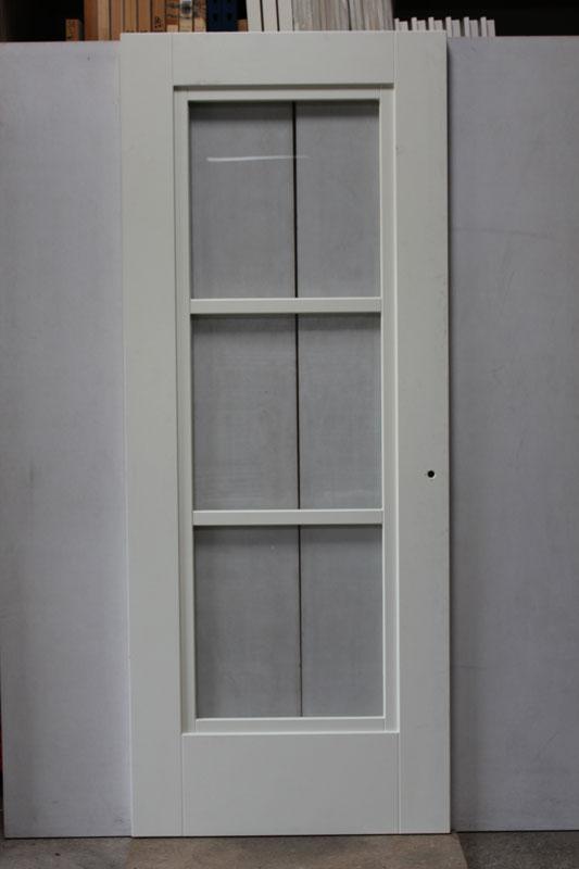 Albo deuren albo paneeldeur 93x231 5 stomp incl blank glas for Norhtgo deuren