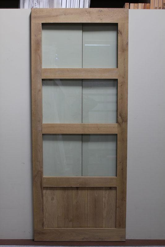 Overige paneeldeuren massief eiken 4 vaks paneeldeur for Norhtgo deuren