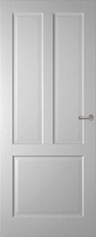Binnendeuren proporte paneeldeur tours 83x197 opdek rechts for Norhtgo deuren